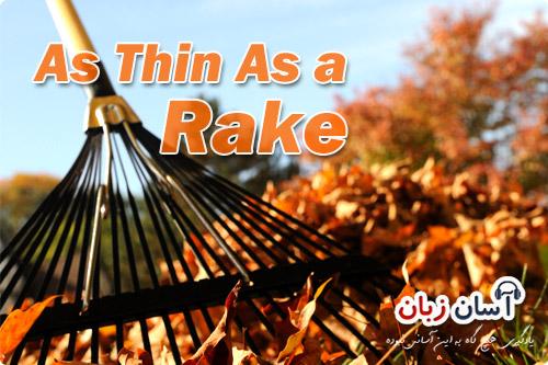 As Thin As a Rake